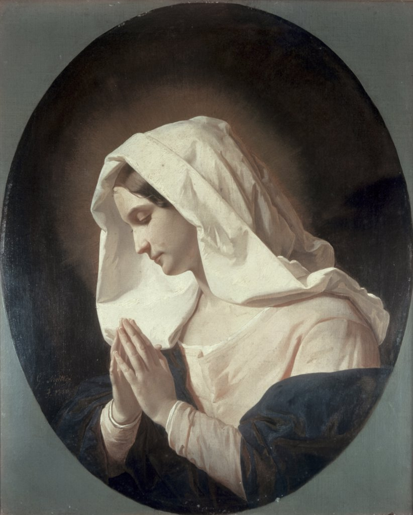Stock Photo: 900-7131 Madonna in Prayer