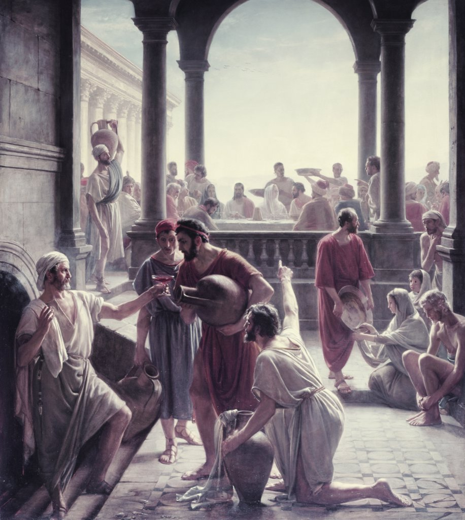 Stock Photo: 900-7268 The Marriage at Cana in Galilee