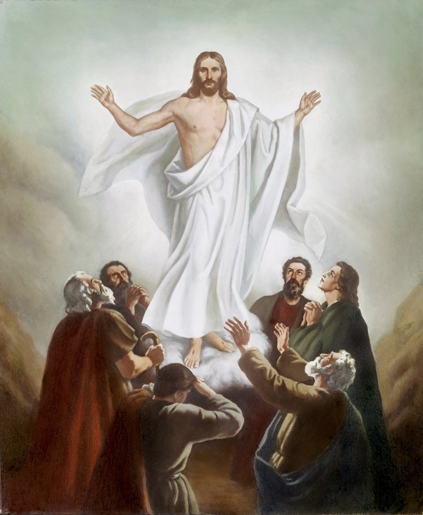 Stock Photo: 900-7303 The Ascension