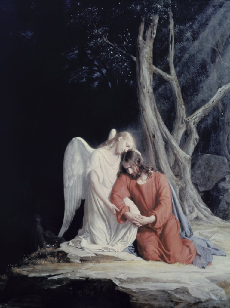 Stock Photo: 900-7313 Agony in the Garden