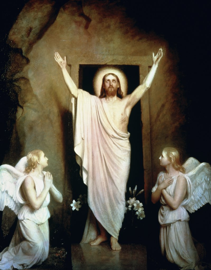 Stock Photo: 900-7315 The Resurrection 