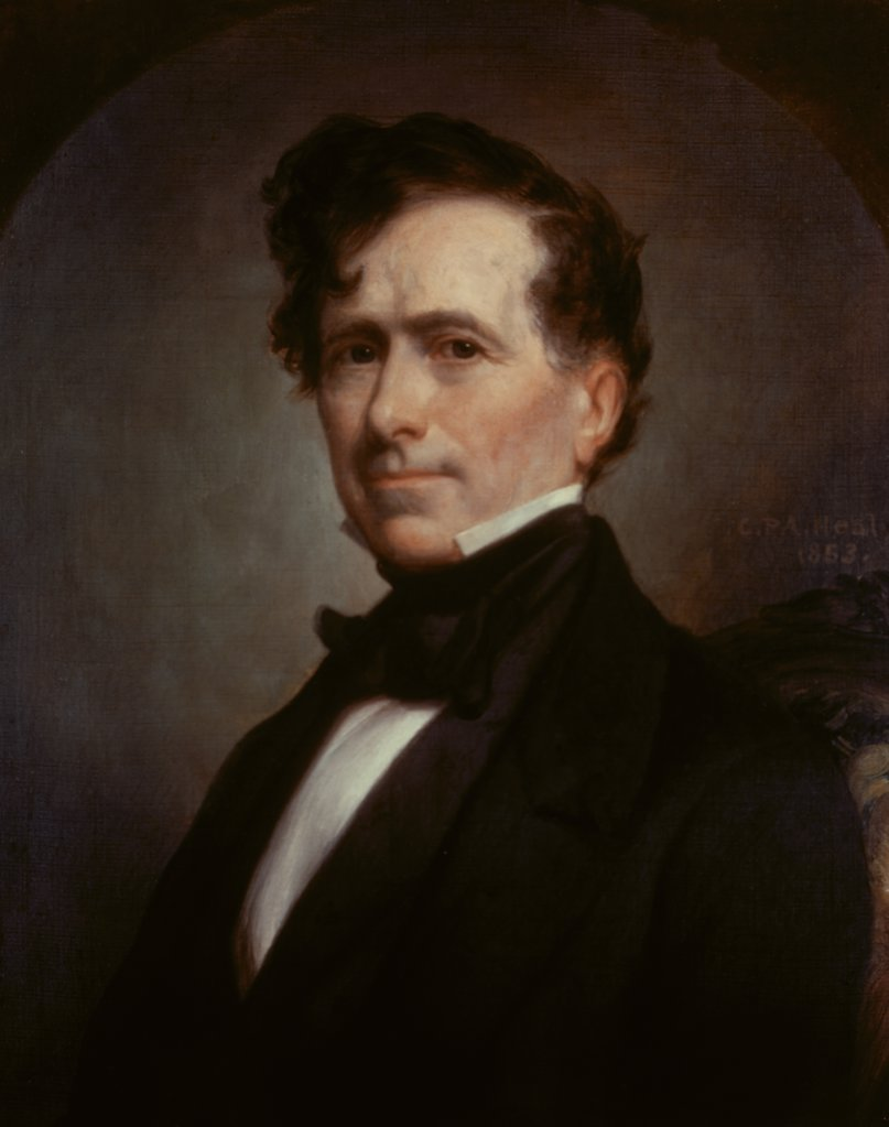 Franklin Pierce (President from 1853-57)