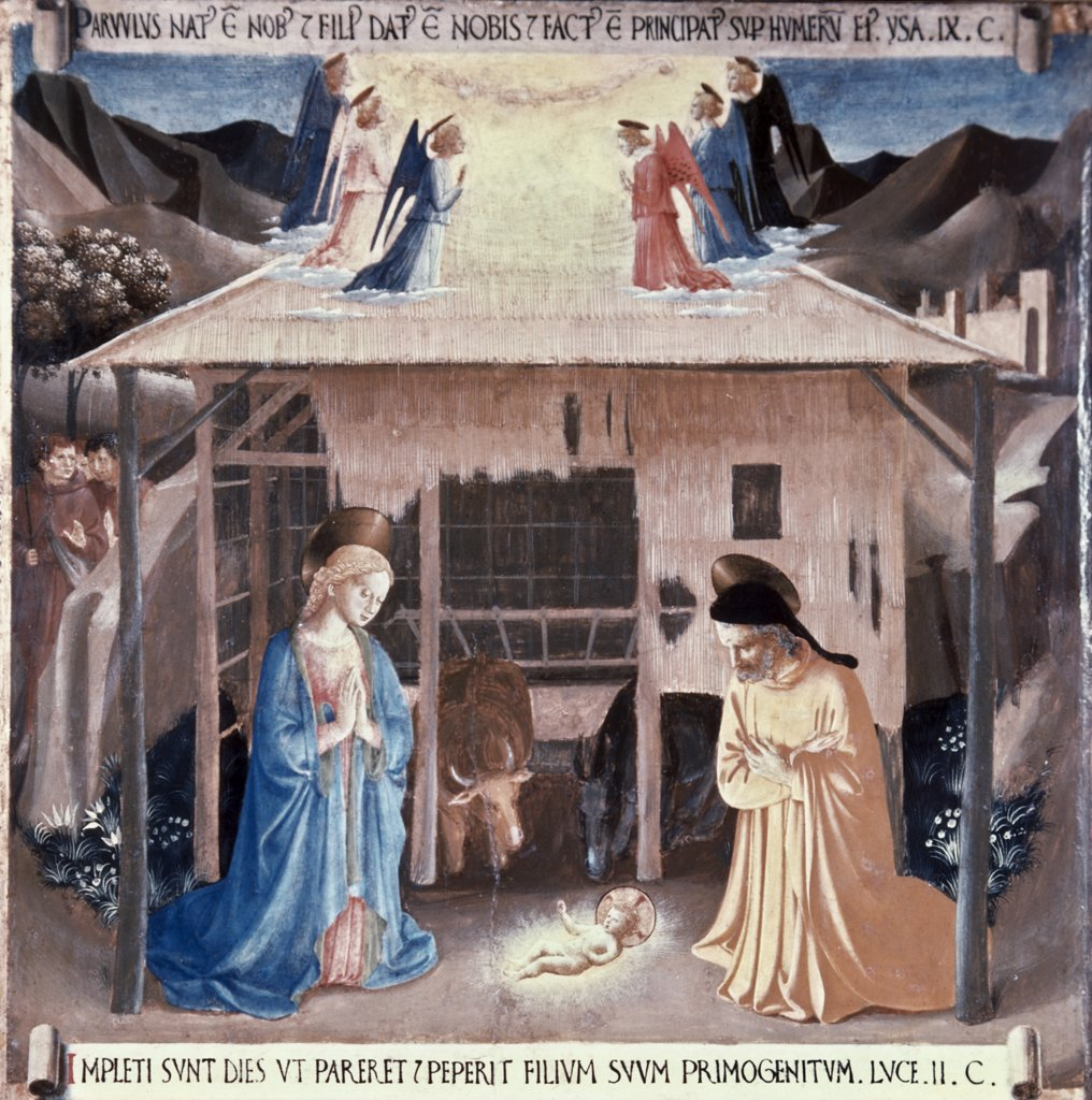 Stock Photo: 900-7570 The Nativity