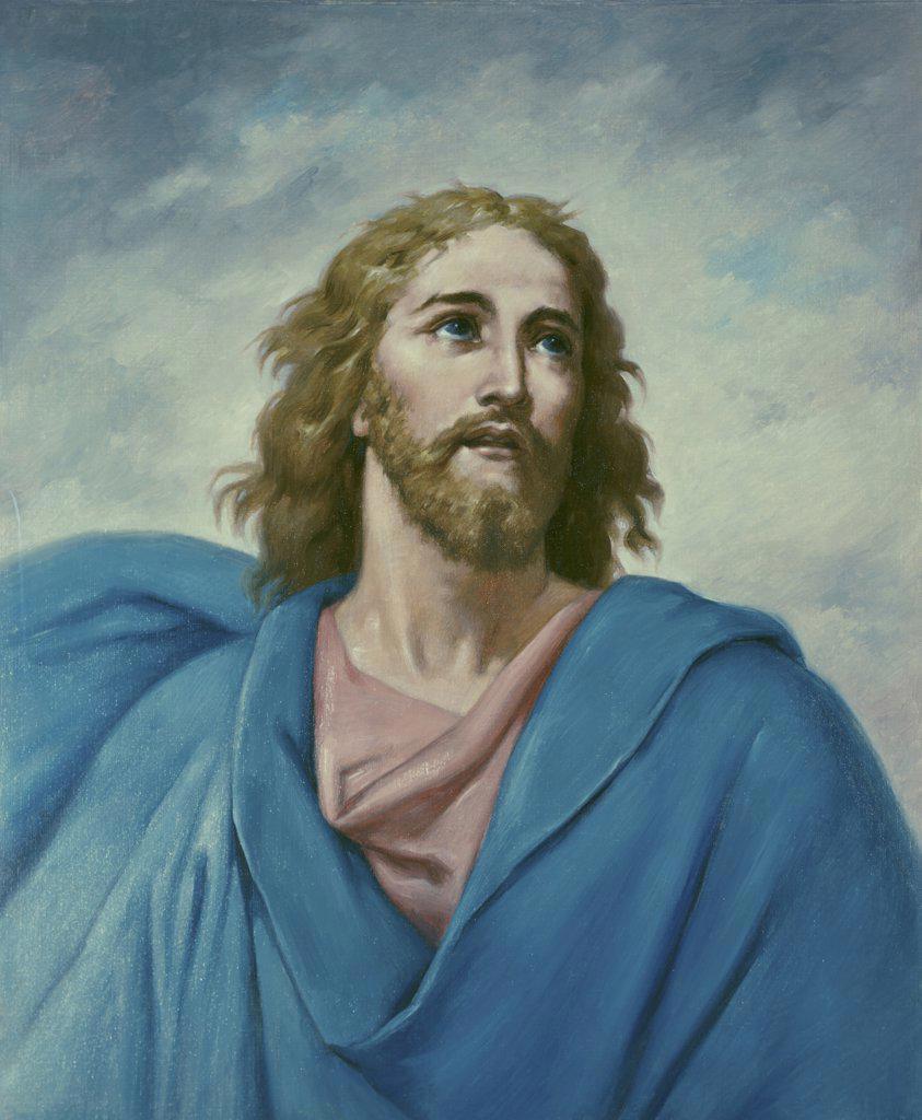 Stock Photo: 900-7787 Portrait of Christ Berthold Brahme (19th C.-German)