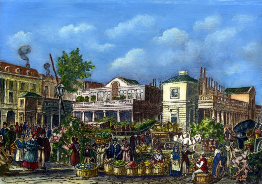 Stock Photo: 900-807826 Covent Garden Market by unknown artist