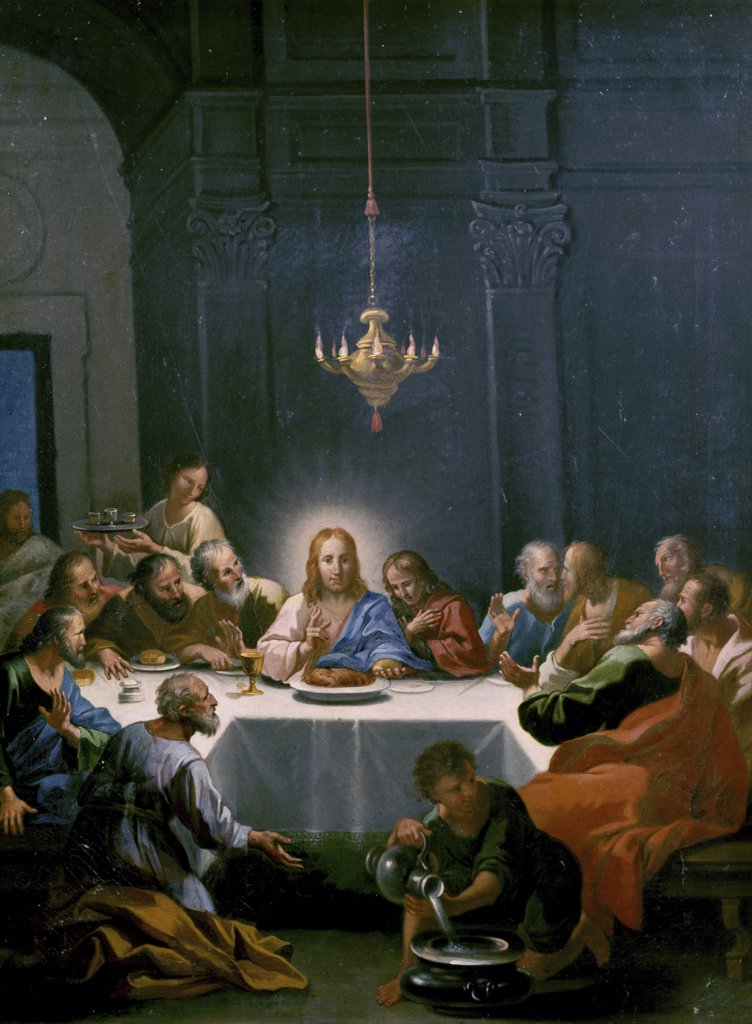 Stock Photo: 900-8286 The Last Supper