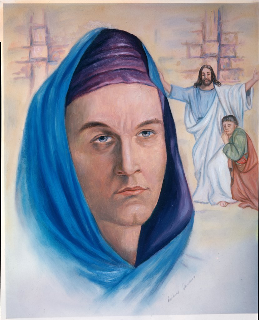 Stock Photo: 900-8494 John by Anthony Gruerio, 20th century art