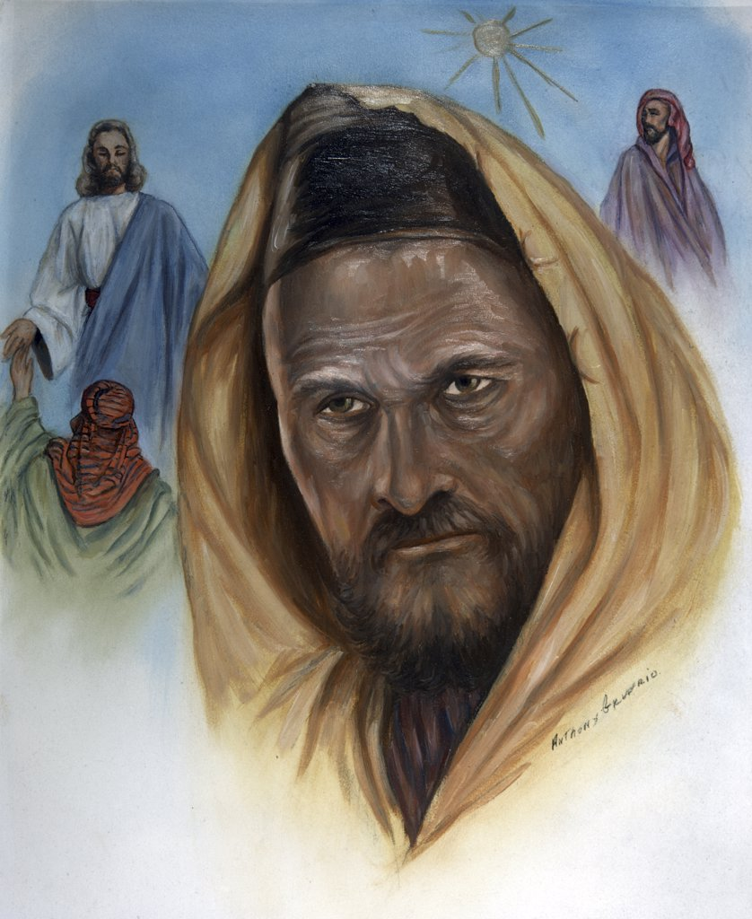 Stock Photo: 900-8498 Apostle Thomas by Anthony Gruerio, 20th century art