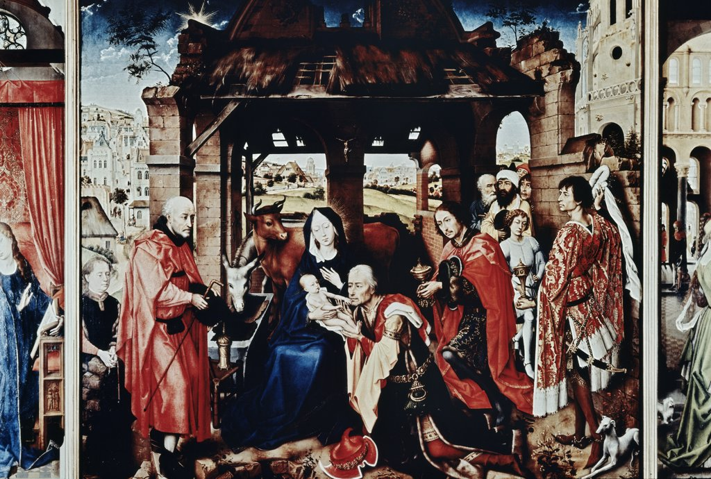 Stock Photo: 900-8521 Adoration of the Wise Men 