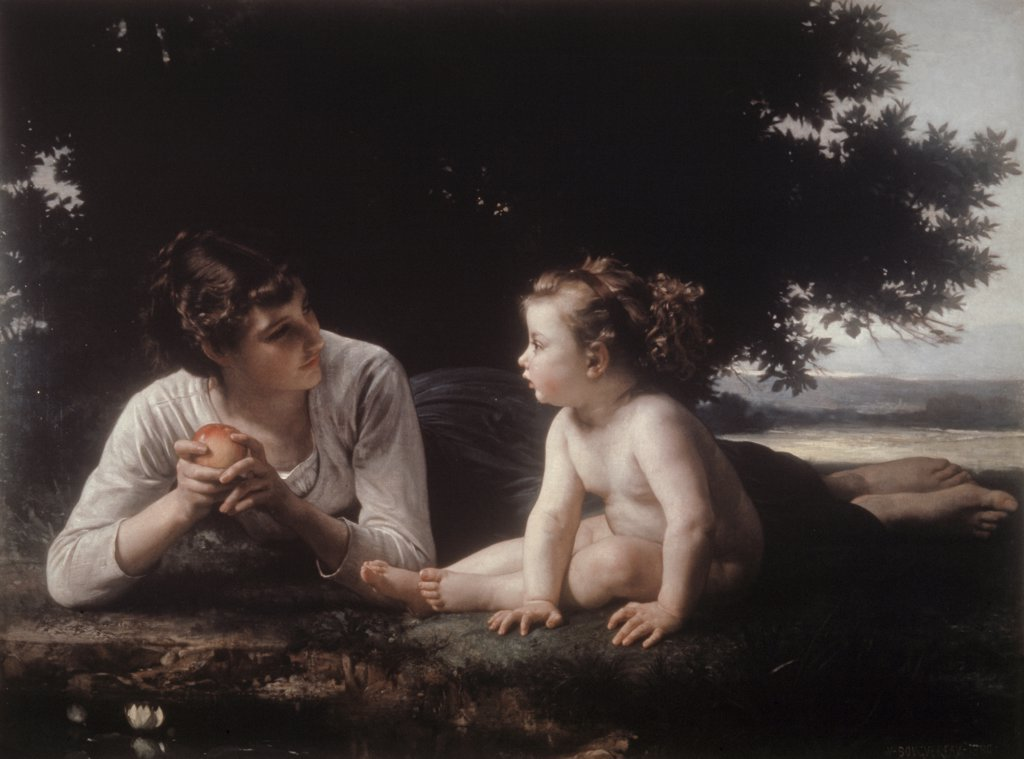 Stock Photo: 900-8895 Mother and Child