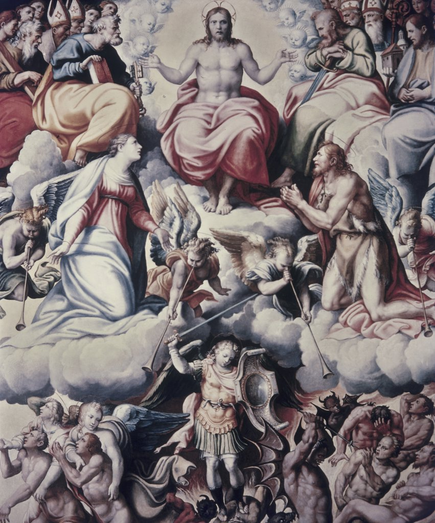 Stock Photo: 900-8914 The Last Judgement