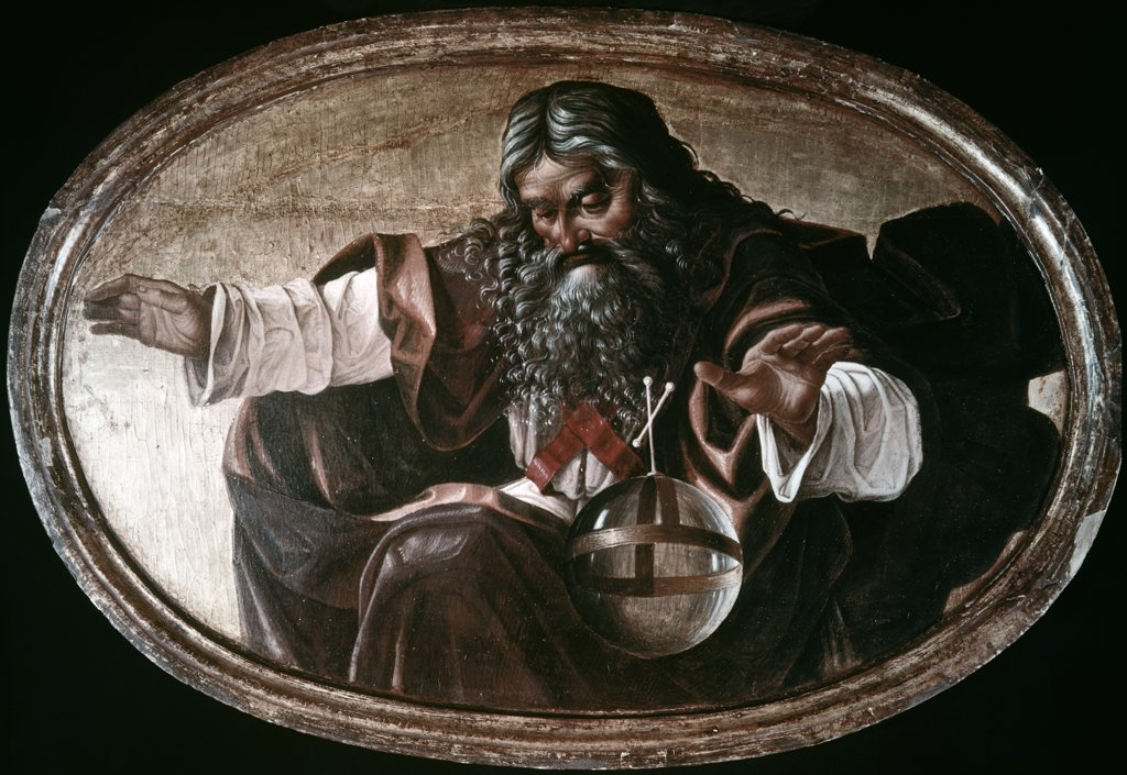 Stock Photo: 900-8916 God The Father Luca Signorelli (1445/50-1523 Italian)