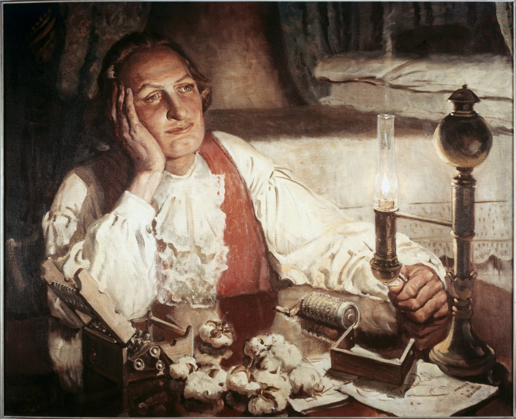 Stock Photo: 900-9096 Eli Whitney 