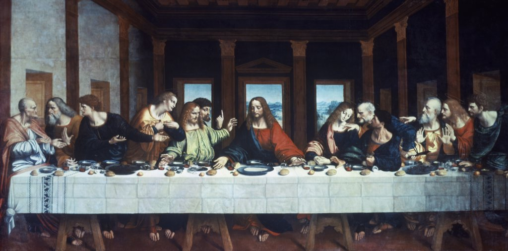 Stock Photo: 900-9113 The Last Supper (After Leonardo Da Vinci)