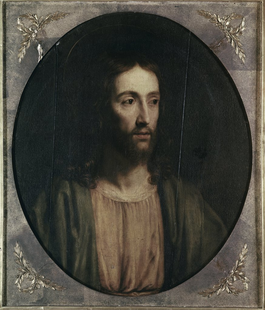 Stock Photo: 900-9128 Head of Christ