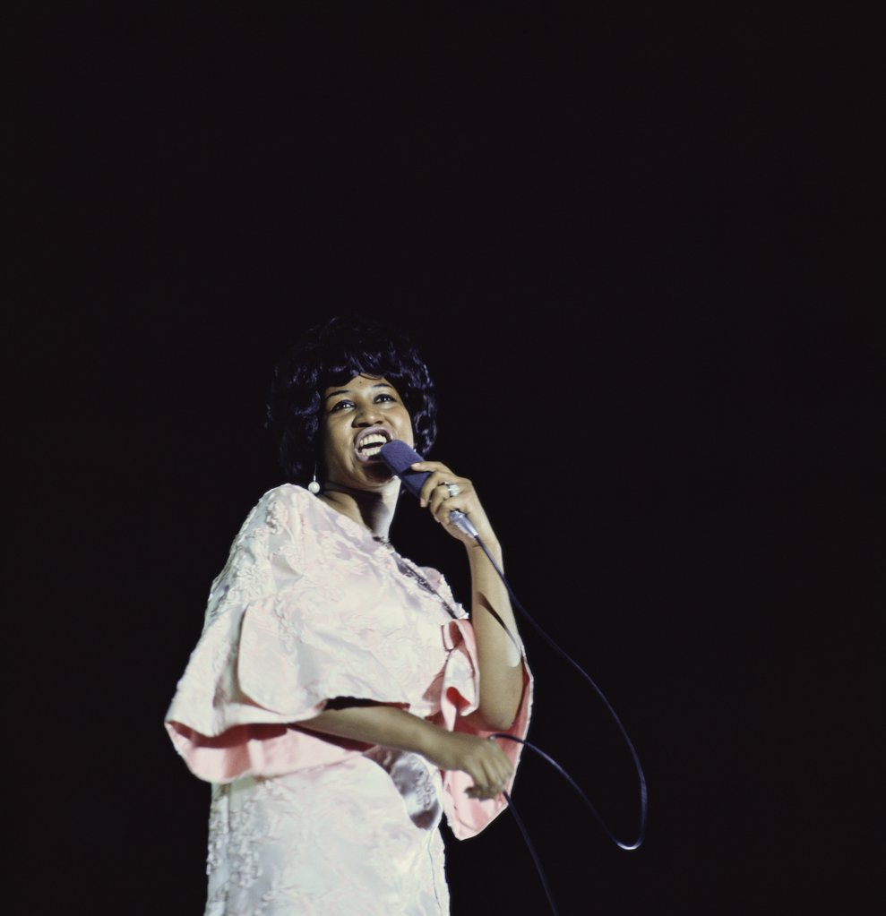 Stock Photo: 903-107980 Aretha Franklin