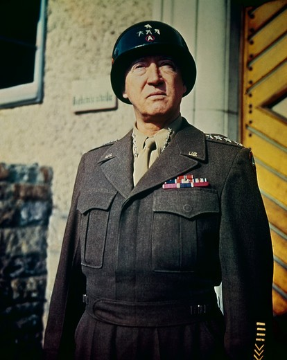 Stock Photo: 903-114 George S. Patton