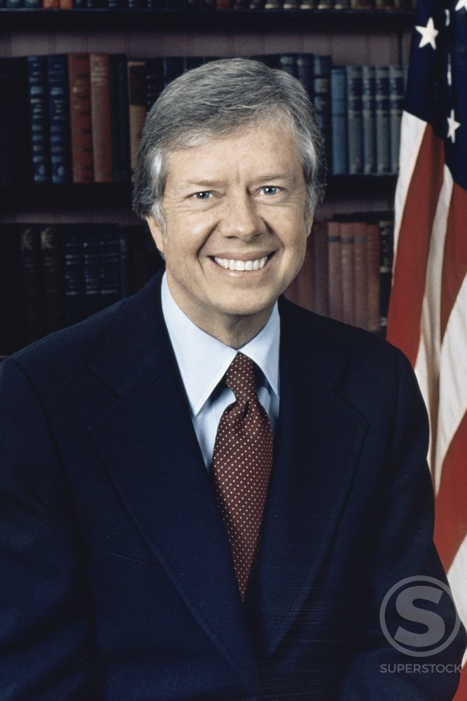 James Earl Carter 39th President of the United States (b. 1924)  : Stock Photo