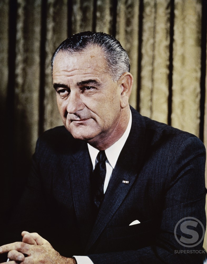 Stock Photo: 903-3384 Lyndon Baines Johnson