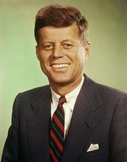 John F. Kennedy, 35th President of the United States, (1917-1963) : Stock Photo