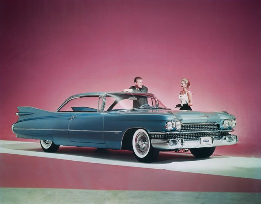 Stock Photo: 911-3554 1959 Cadillac