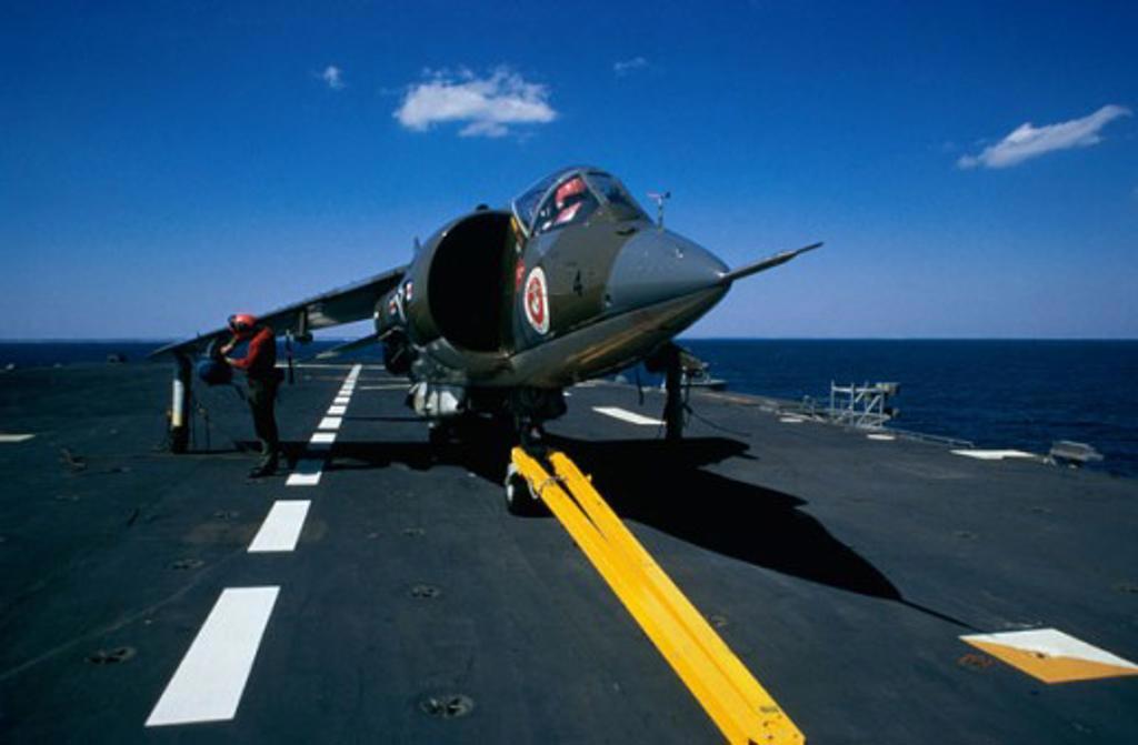 U.S. Marine Corp Harrier : Stock Photo