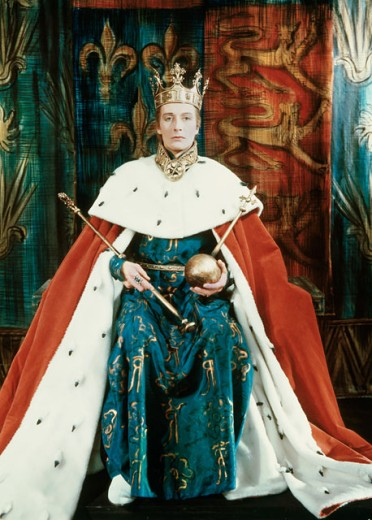 John Neville as King Richard II  : Stock Photo