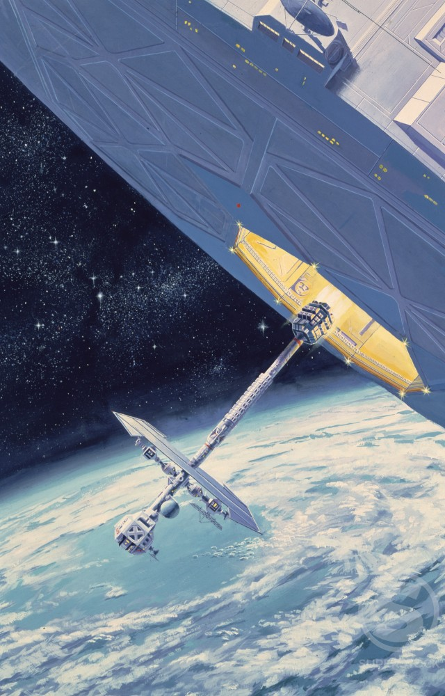 Stock Photo: 912-135452 Space Mission Artist Unknown