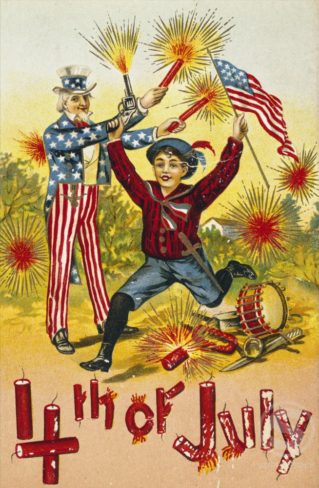 Stock Photo: 980-1060 Fourth of July