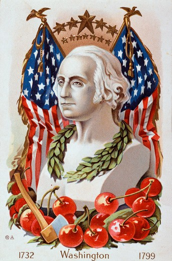 Stock Photo: 980-1148 George Washington's Birthday Nostalgia Cards