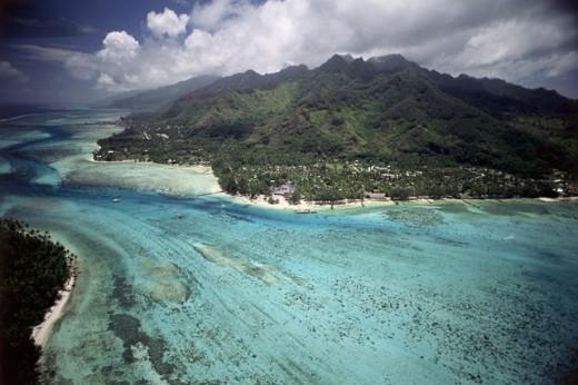 Moorea French Polynesia : Stock Photo