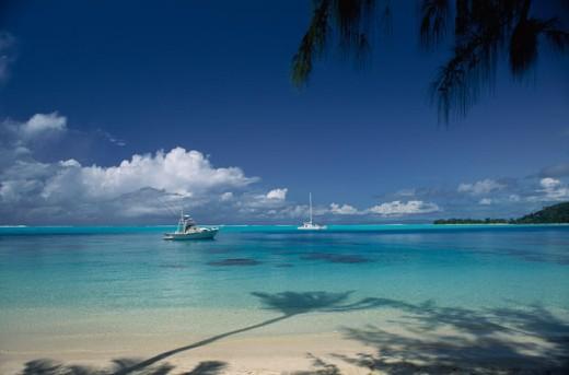 Bora Bora French Polynesia : Stock Photo
