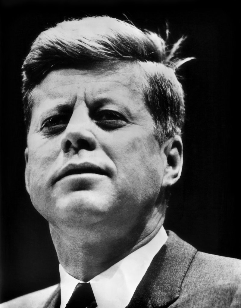 Stock Photo: 990-101 John F. Kennedy