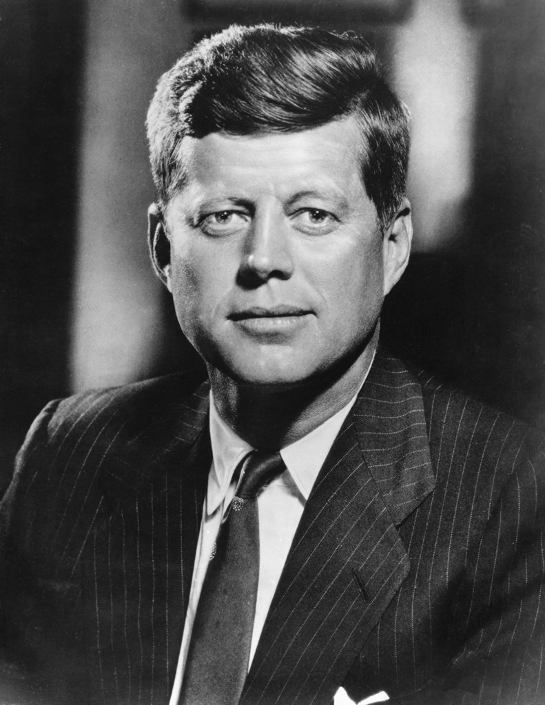 Stock Photo: 990-106 John F. Kennedy