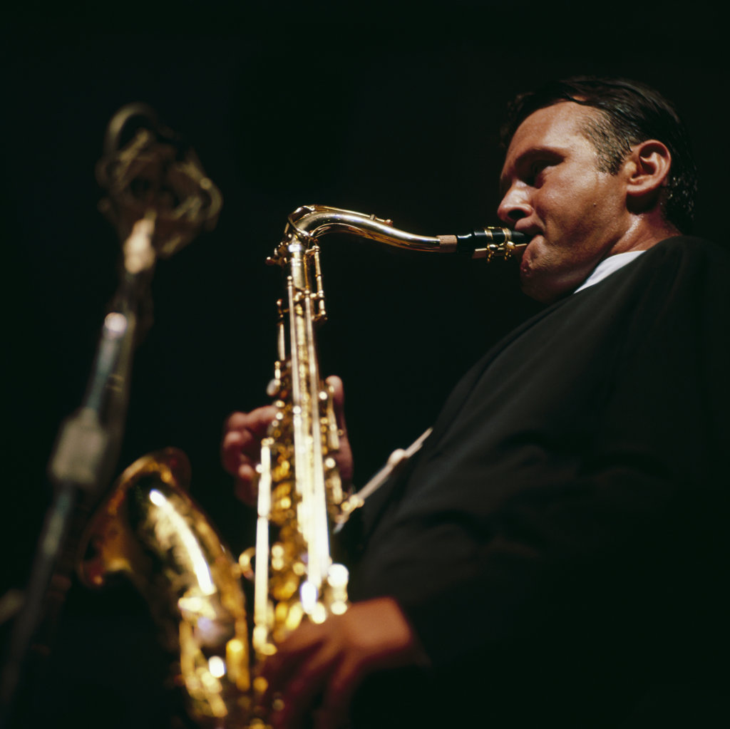 Stock Photo: 990-107959D Stan Getz