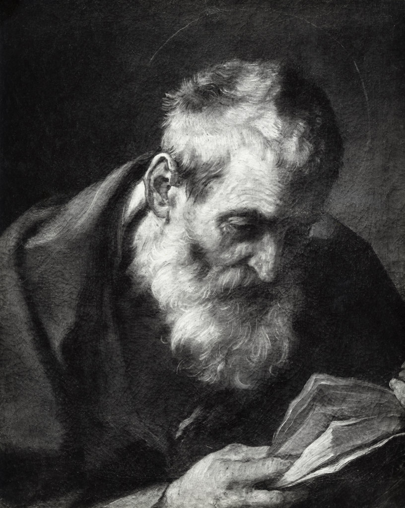 Stock Photo: 990-1117 St. Joseph, Guido Reni, (1575-1642 Italian)
