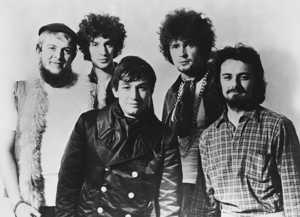 Stock Photo: 990-129 Eric Burdon & the Animals