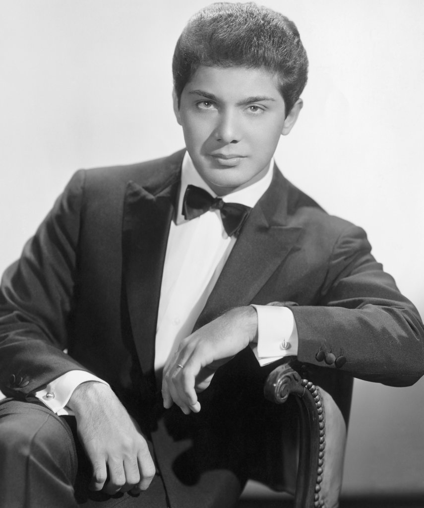 Stock Photo: 990-134 Paul Anka, singer, songwriter and actor, (b.1941)