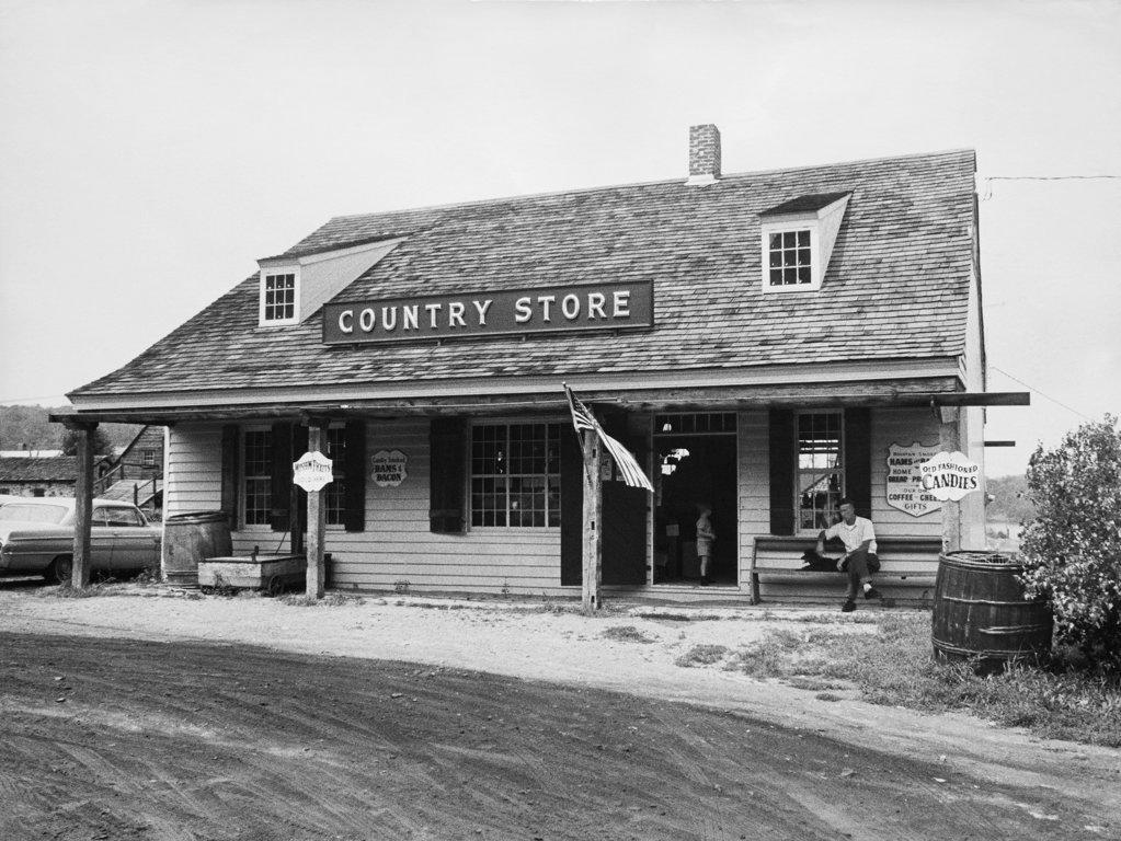 Stock Photo: 990-1787 Facade of a store
