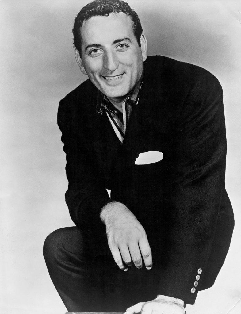 Stock Photo: 990-179 Tony Bennett, (1928- ), Singer