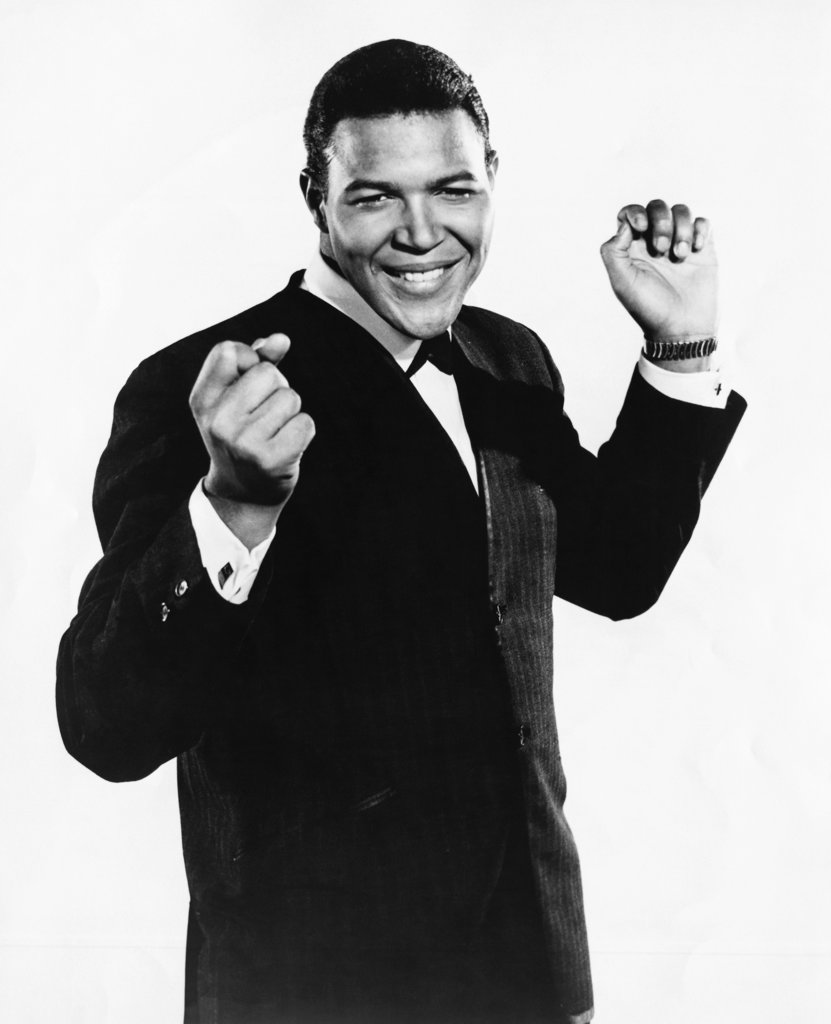 Stock Photo: 990-192 Chubby Checker, American singer, (b.1941)