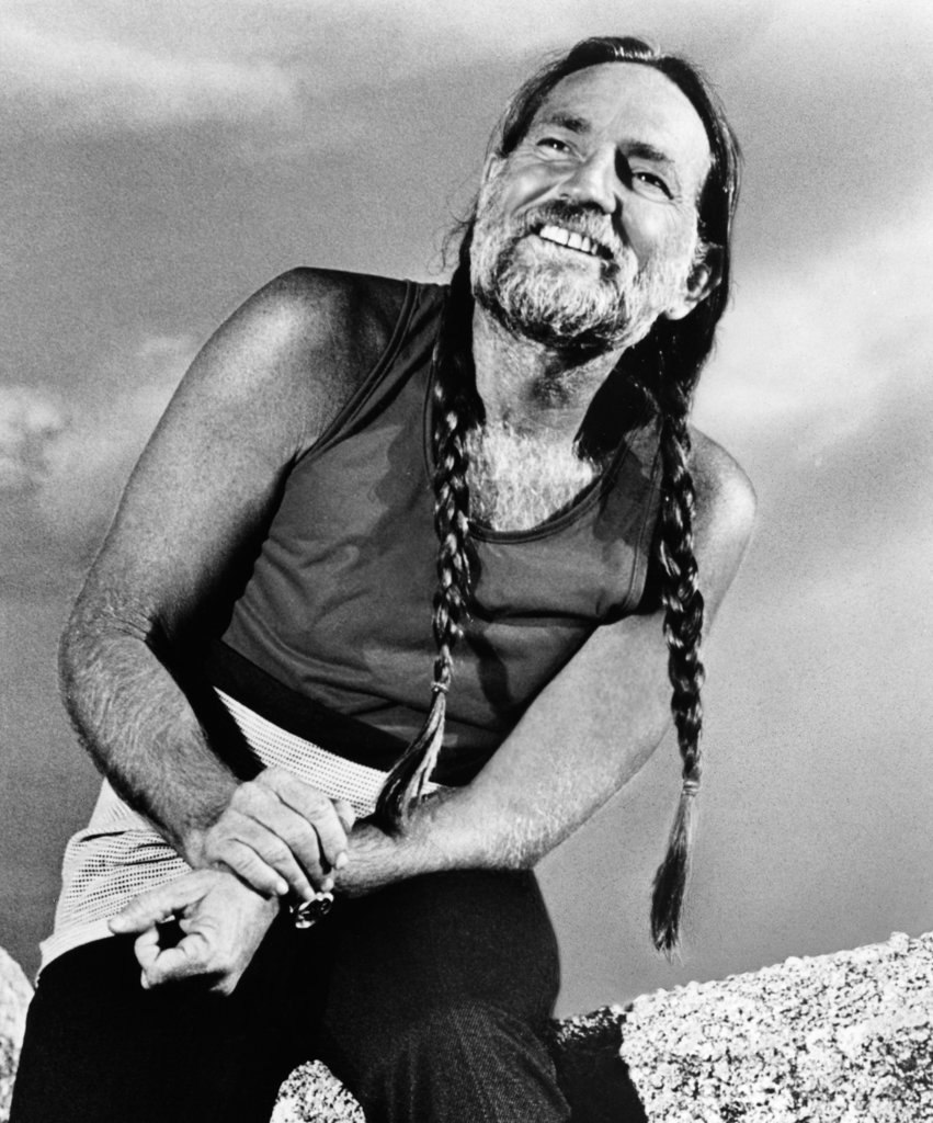 Stock Photo: 990-2241 Willie Nelson, Country Singer and Songwriter