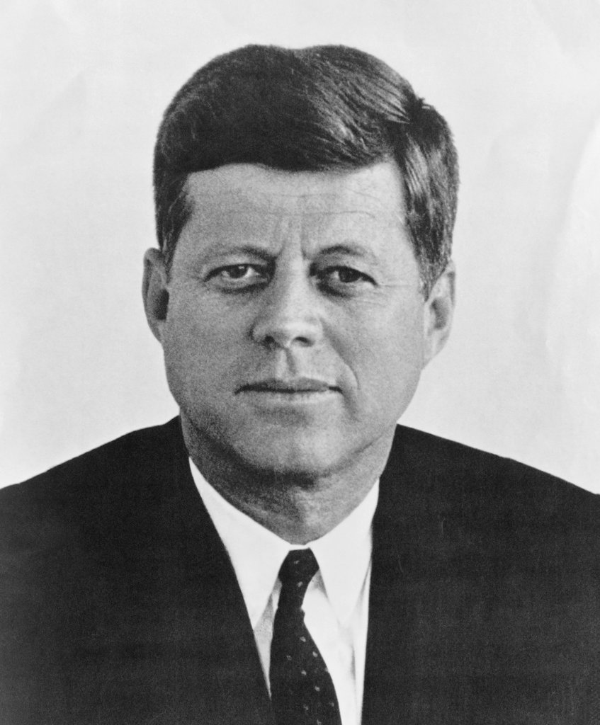 Stock Photo: 990-2331 John F. Kennedy, (1917-1963), 35th President of the United States