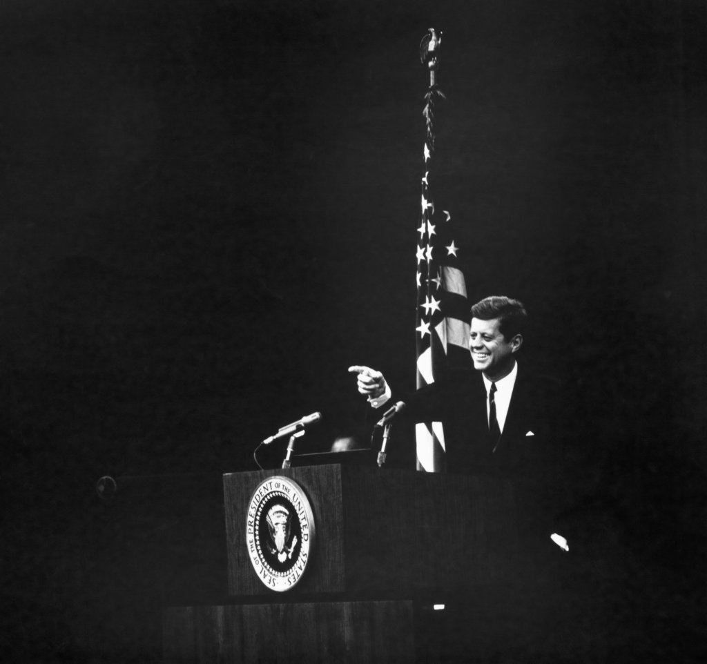John F. Kennedy, (1917-1963), 35th President of the United States : Stock Photo