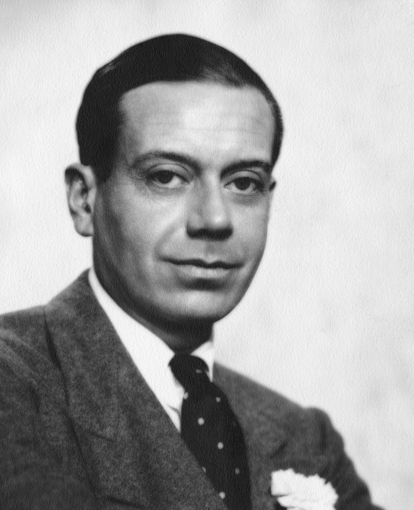 Stock Photo: 990-2489 Cole Porter, American composer and songwriter, (1891-1964)