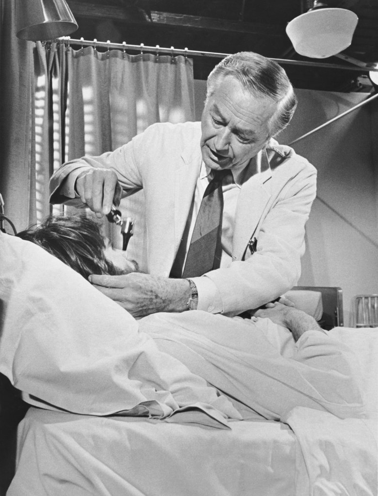 Stock Photo: 990-2741 Robert Young in Marcus Welby M.D.