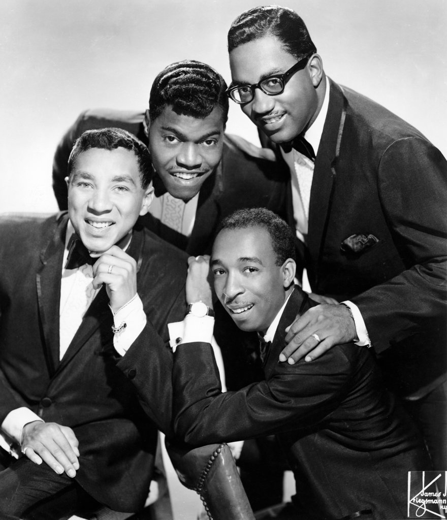 Smokey Robinson & The Miracles, portrait : Stock Photo