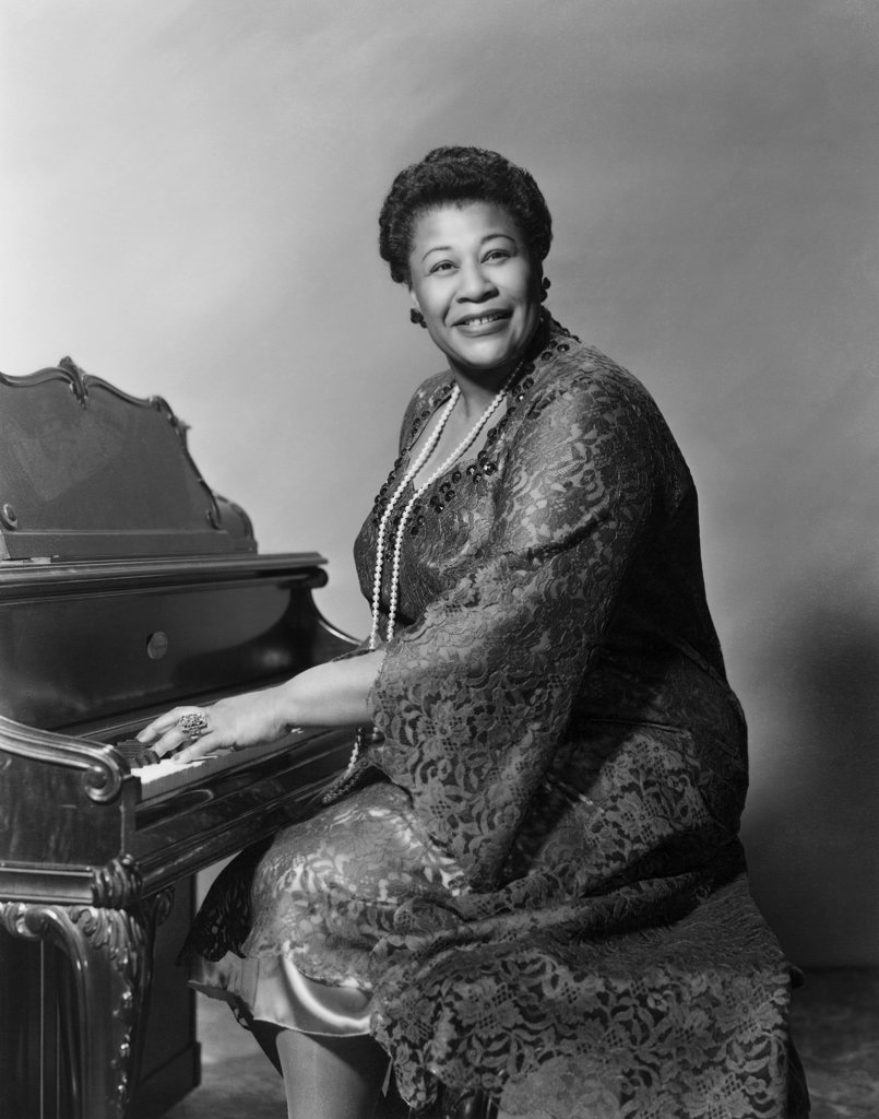 Stock Photo: 990-278 Ella Fitzgerald