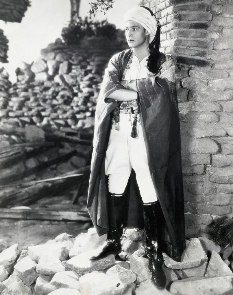 Stock Photo: 990-2791 Rudolph Valentino