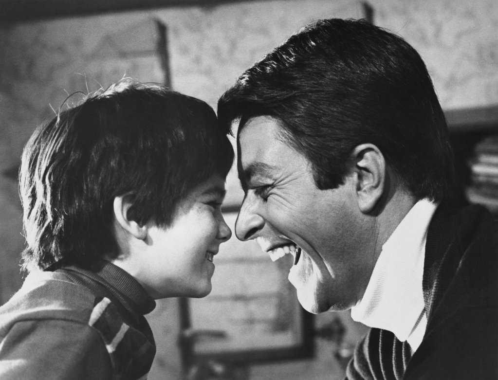 "Stock Photo: 990-3066 Brandon Cruz and Bill Bixby ""The Courtship of Eddie's Father"""